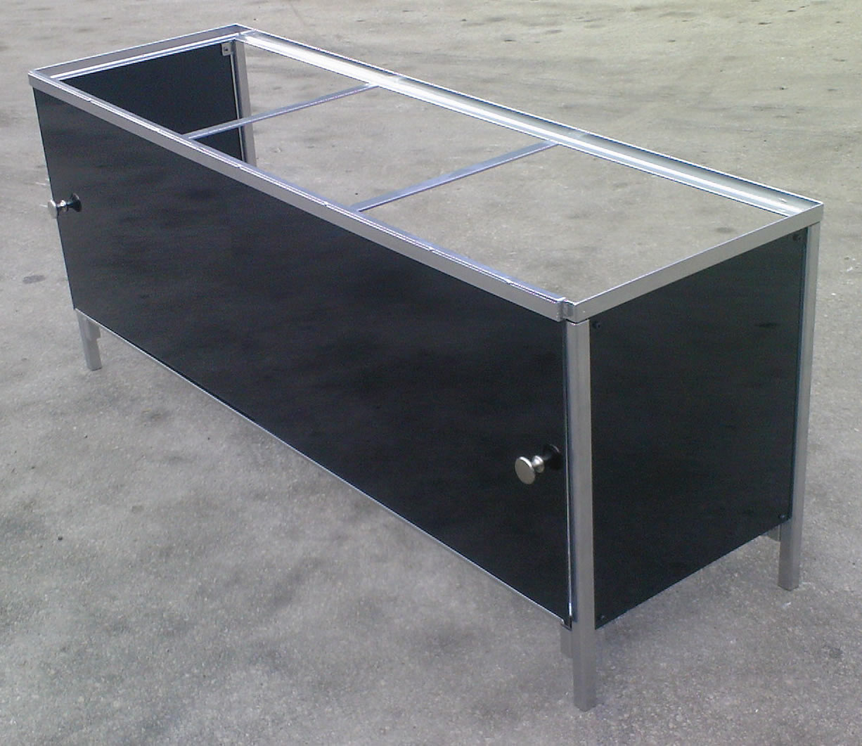 Aquarium / Vivarium stand with sliding doors & Steelworkshop - Aquarium / Vivarium Stands Pezcame.Com