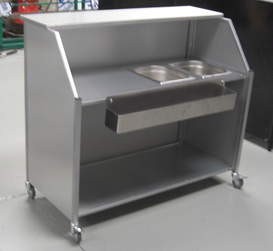 Steelworkshop Mobile Portable Bars