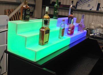 LED Back Bar Displays