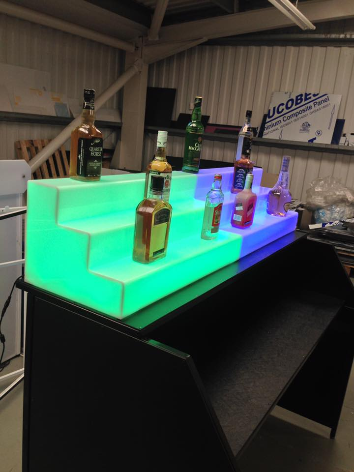 LED Back Bar Displays