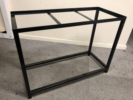 Black Coated Stand (example)
