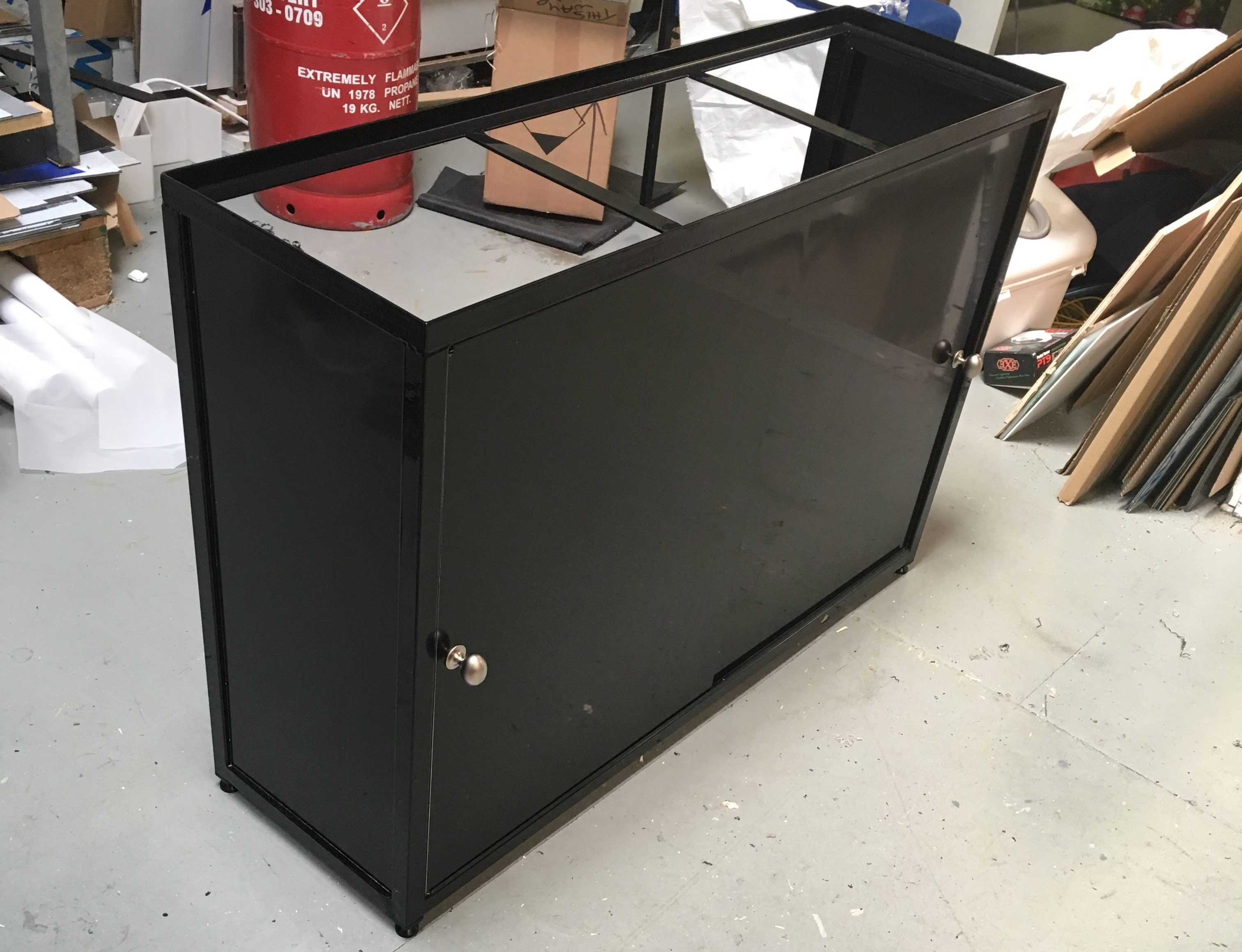 Black Cabinet Style Stand (example)